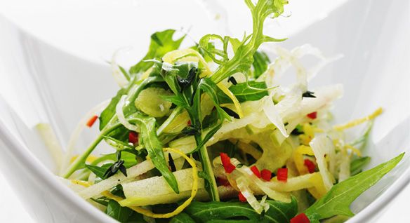 Shaved Fennel Salad with Lemon Oil | Raw Food | Pinterest