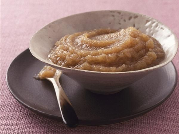 Maple-Cinnamon Applesauce SERVINGS: 8 4 lb apples ⅓ cup apple cider ...