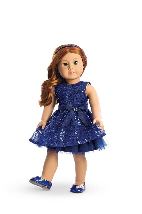 Happy Holiday Dress for Dolls