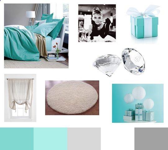 tiffany blue bedroom house someday pinterest