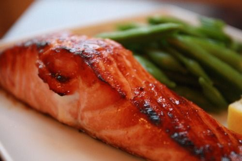Single Serving Maple Glazed Salmon Recipe (note to self- replace ...