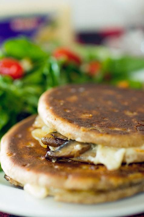 Mushroom Melts, another epic grilled cheese created by our fave foodie ...