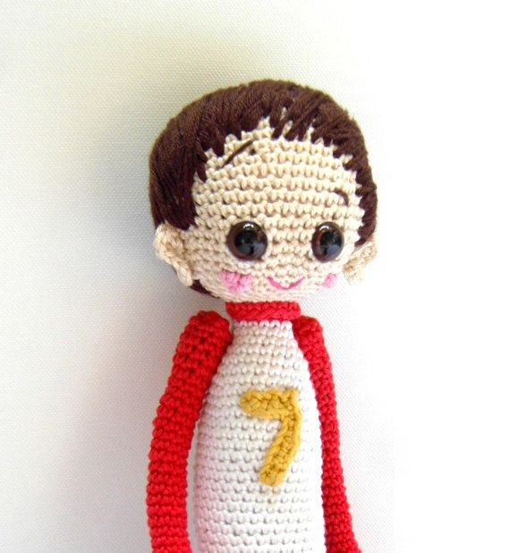 Crochet Doll Pattern Cute : Crochet Doll Pattern - Dani, Cute Crochet Amigurumi Boy ...