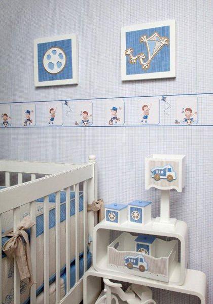 O papel de parede pode transformar os quartos infantis. Inspire-se: http://www.webcasas.com.br/revista/materia/decoracao/381/papel-de-parede-transforma-quarto-infantil/
