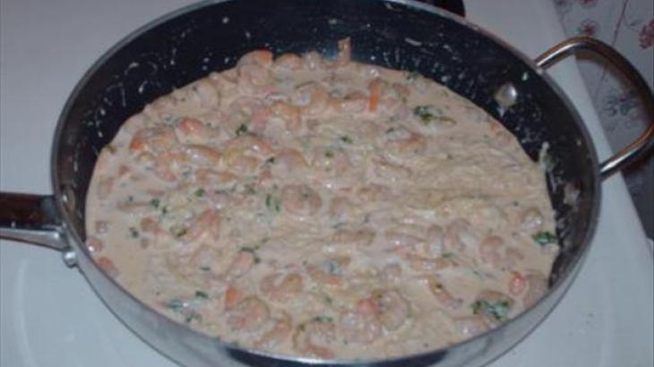 Shrimp and Pasta With Creole Cream Sauce | Seafood | Pinterest