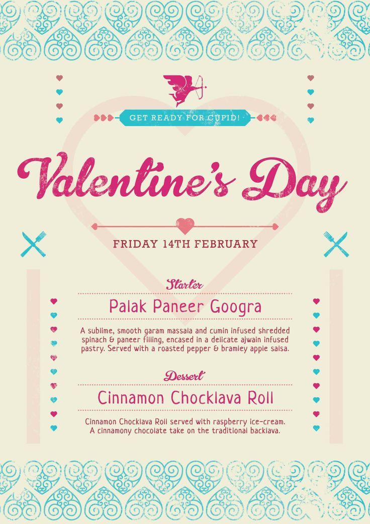 restaurant x valentines day menu