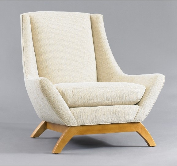 dwell studio wingback chair textures patterns and