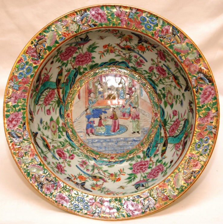 Dating rose medallion porcelain