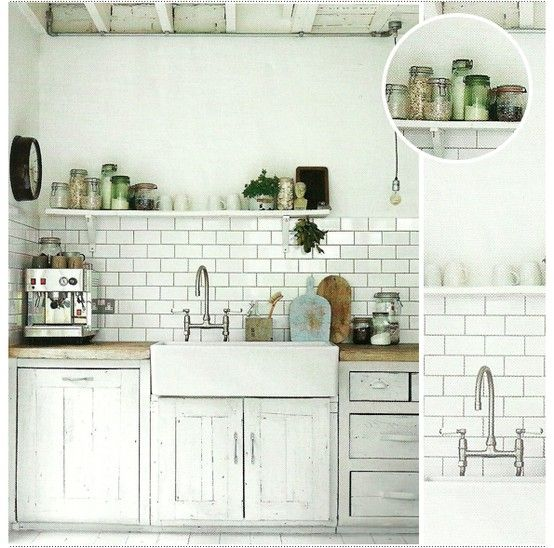 White Kitchen Tiles Grey Grout: Subway Tile With Gray Grout