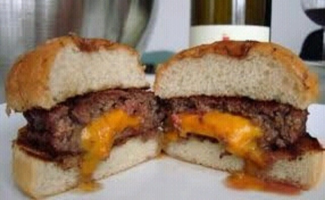 Juicy Lucy Burgers | Main Dishes | Pinterest