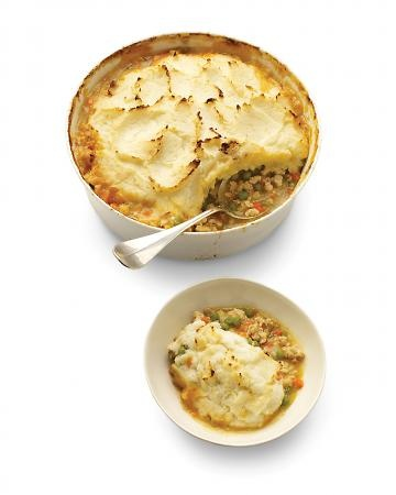 Shepherd's Pie This definitive comfort food gets a bit of virtue by ...