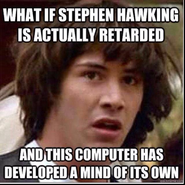 Stephen Hawking Meme