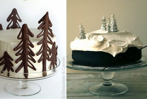 Chocolate Cake Decorated For Christmas : beautiful christmas cakes Cake/Cupcake Decorating ...