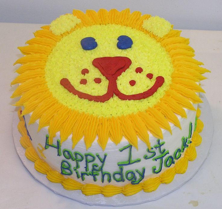 Animal Face Birthday Cake Image Inspiration of Cake and Birthday