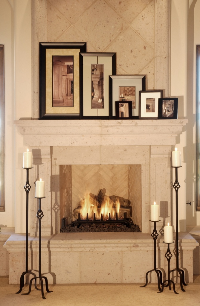 Country Tuscan Fireplaces Mantels Pinterest