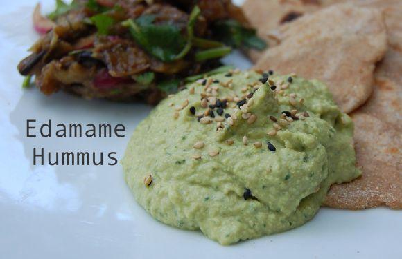 Edamame Hummus with Sesame Seeds | Vegan and Vegeterian Food/Bouffe ...