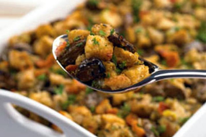 Turkey and Cornbread Stuffing Casserole | For the Home | Pinterest