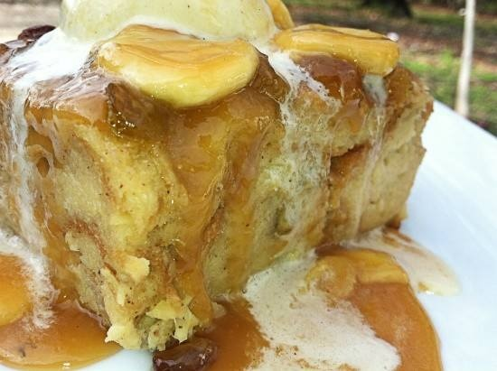 BANANA BREAD PUDDING WITH CARAMEL SAUCE | Luscious Bread Puddings | P ...