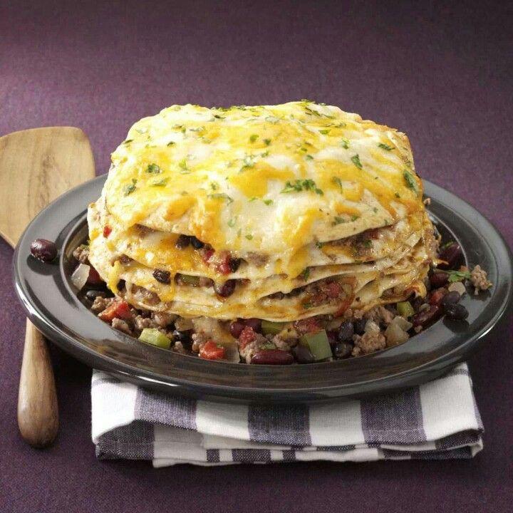 Slow cooker enchiladas | Appeteasers | Pinterest