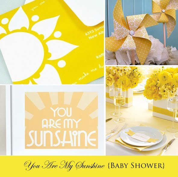 you are my sunshine theme pinwheels showers and baby gifts pint