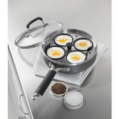Calphalon Kitchen Essentials 4 Cup Egg Poacher