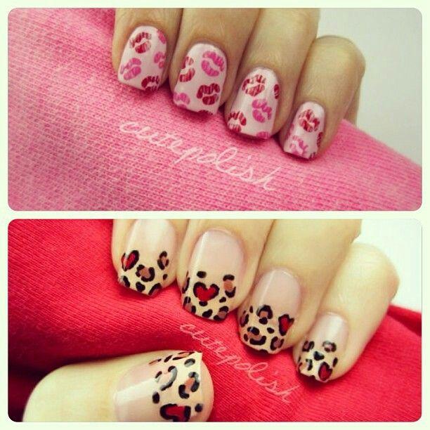valentine nails weheartit