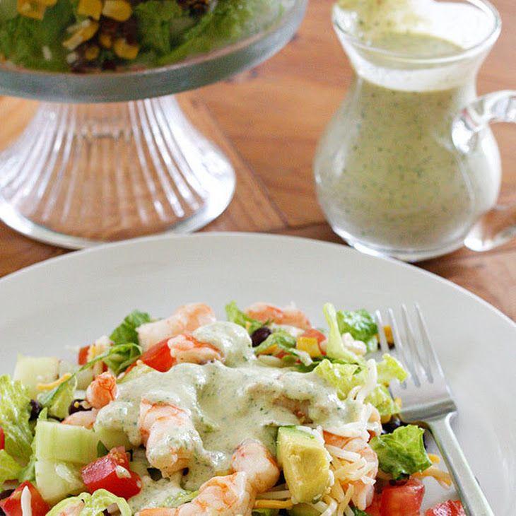 Mexican Shrimp Cobb Salad Recipe   Spanish Dishes   Pinterest