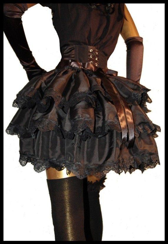 steampunk bustle skirt 2 spunky cloths pinterest