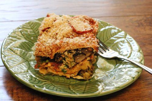 Roasted Vegetable Lasagna | Dinner Ideas | Pinterest