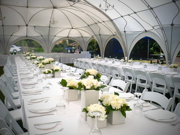 Nice Appearance Of Banquet Tables : Long Banquet Tables