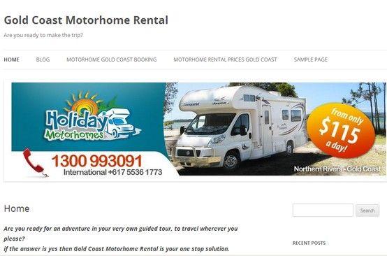 Original Gold Coast Tweed Heads Camper Amp Caravan Hire Quennsland Australia
