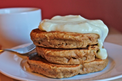 Gingerbread Apple Pancakes | Breakfast of Champions | Pinterest