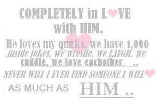 am completely in love with you baby   sayings   Pinterest