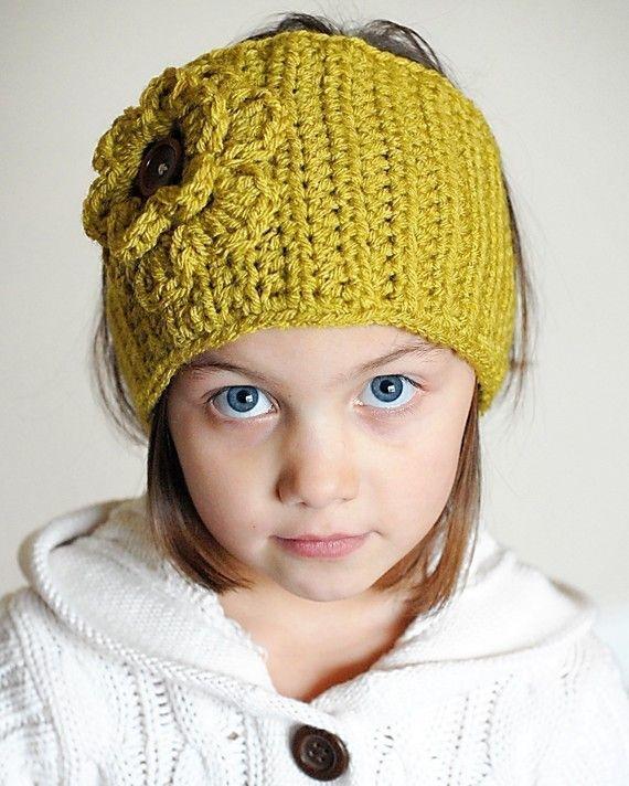 Crocheting Ear Warmers : ... : What Im working on for my 2st project! Ear Warmer Crochet Pattern