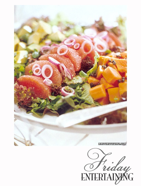 ... salad recipe yummly watermelon prawn avocado and pink grapefruit salad
