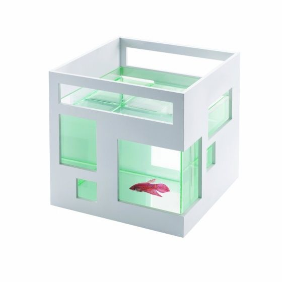 Stackable Umbra FishHotel Aquarium via @GeekAlerts #design #aquarium