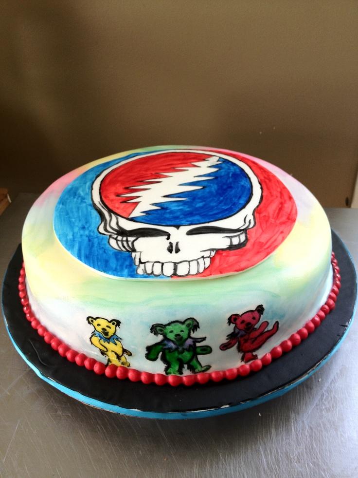 The Grateful Dead Cake