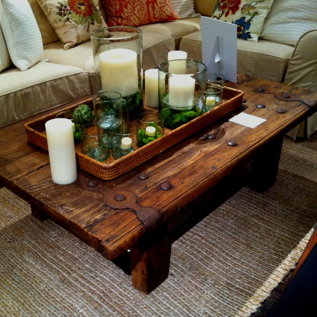 Pottery Barn Coffee Table Home Decor Ideas Pinterest