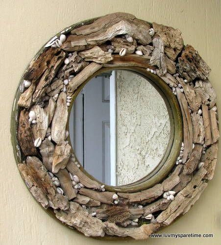 Creative diy mirror frames ideas mirror ideas pinterest for Diy mirror ideas