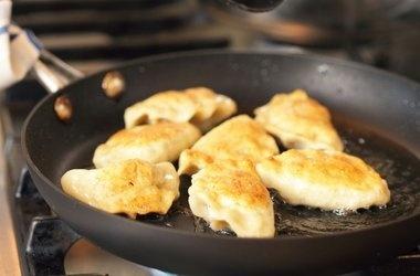 Pierogi with Potato, Cheese, Bacon, and Peas Filling — Punchfork