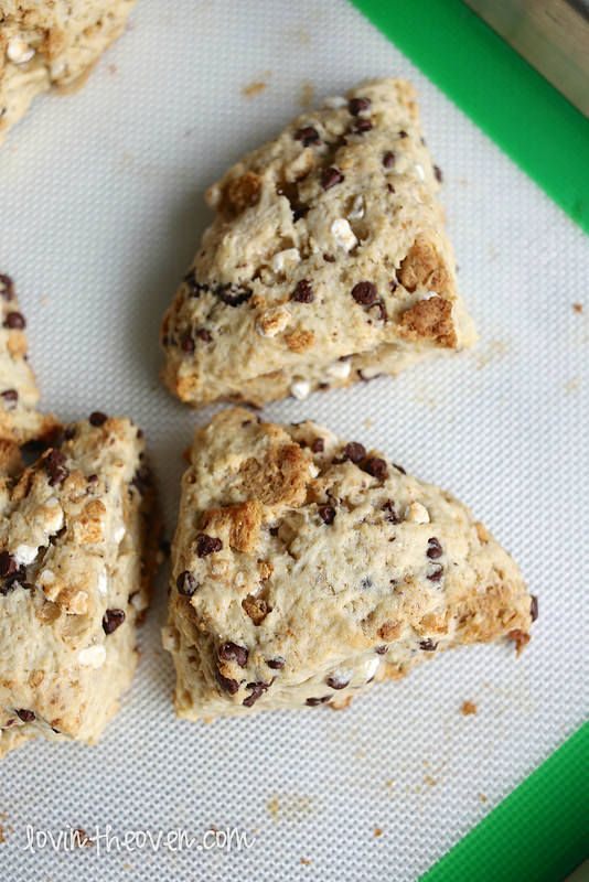 Baking with Tate + Lyle Sugars: S'mores Scones - Lovin' From The Oven