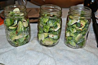 Pickled Brussels Sprouts | Recipes | Pinterest