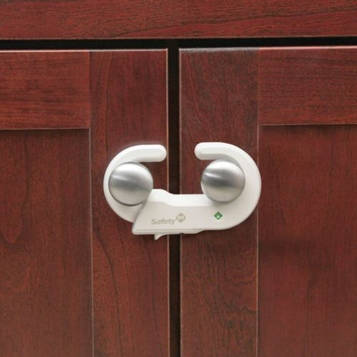 safety 1st grip 39 n go cabinet lock with secure tech for