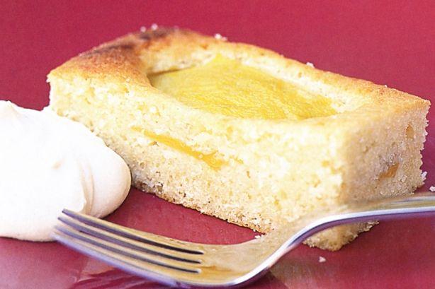 mango amp coconut slice with palm sugar cream main image