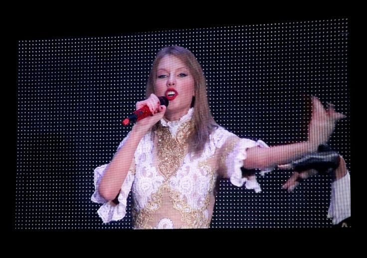 """Taylor Swift performs live via satellite from Australia on """"The GRAMMY Nominations Live!! — Countdown To Music's Biggest Night"""" on Dec. 6 in Los Angeles"""