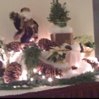 Winter Buffet Decorations!