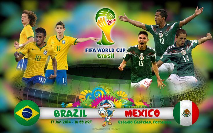 Brazil vs mexico 2014 world cup gambar amp foto pinterest