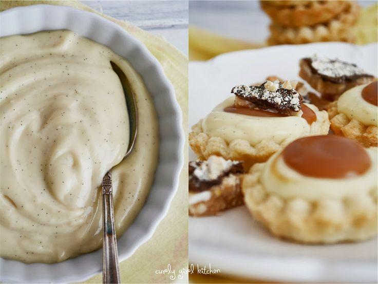 salted caramel and vanilla bean custard tartlets ~ *golden or glucose ...