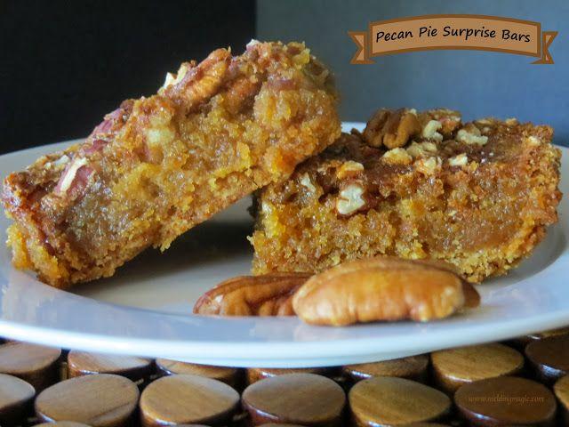 Melding Magic: Pecan Pie Surprise Bars | MzRell | Pinterest