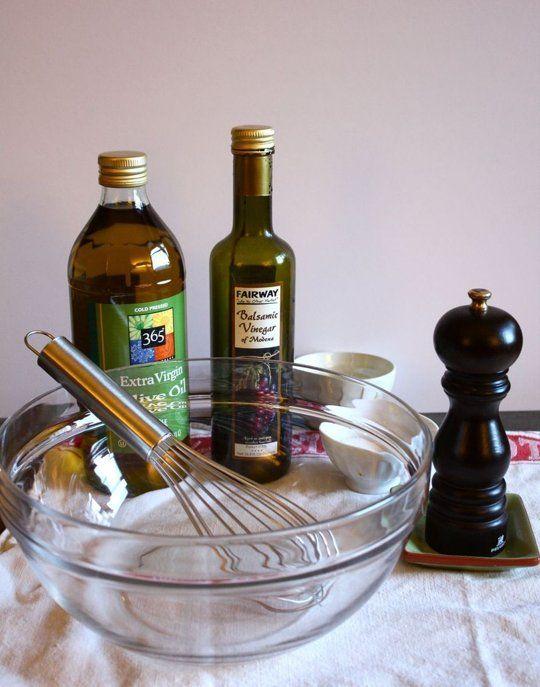 How To Make Balsamic Vinaigrette Recipes — Dishmaps